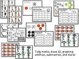 sports centers and activities for pre k kindergarten tpt