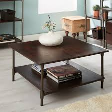 industrial square coffee table centra industrial coffee table