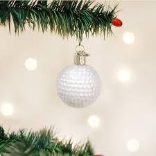 amazon com old world christmas golf ball glass blown ornament