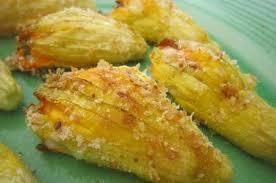 ricette con fiori di zucchina al forno ricetta una novit罌 in cucina i fiori di zucca ripieni di riso