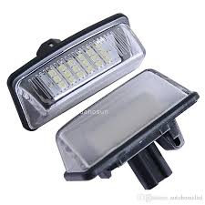security light led replacement bulb x led bulb for toyota crown reiz vios number plate light with e8