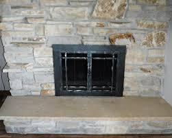 fireplace screen with glass doors fireplace doors u0026 screens green bay wi the chimney guy
