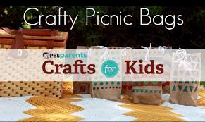 colorful picnic bags crafts for kids pbs parents youtube