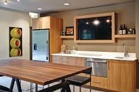 Bamboo Kitchen Cabinets Mid Century Modern Kitchen Cabinets Kitchen Midcentury With Bamboo