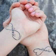 picture of romantic heart wedding tattoos