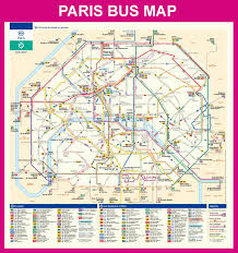 Paris Rer Map Map Of Paris Bus Noctilien Stations Lines The Future Of The City