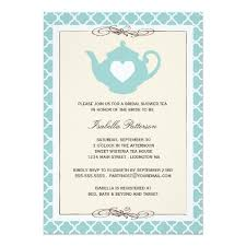 bridal shower tea party invitations teal teapot bridal shower tea party invitation card