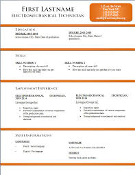 resume template word free cv resume templates 170 to 176 free cv template dot org