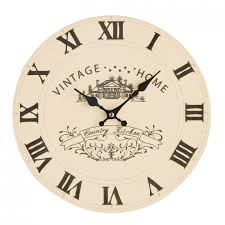 country style kitchen wall clocks