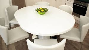 White Extendable Dining Table Home Design 79 Breathtaking Extendable Round Dining Tables