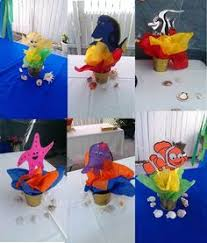 Finding Nemo Centerpieces by Hostess With The Mostess Jorge U0027s 1st Finding Nemo Party Ideas