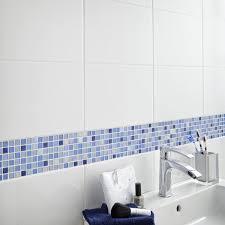 Leroy Merlin Carrelage Mural Cuisine Mosaïque Sol Et Mur Glossy Bleu Leroy Merlin