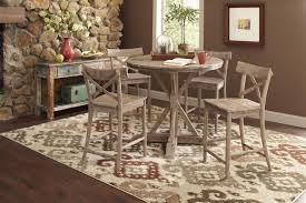 Dining Table Set Espresso Dining Tables Indoor Bistro Table Set 5 Piece Counter Height