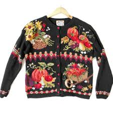 thanksgiving harvest tacky sweater the sweater shop