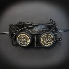 steunk masquerade mask steunk masquerade mask robot villain mask black m39265b