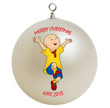 personalized caillou ornament by giftsfromhyla on etsy