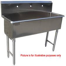 stainless steel hand sink custom made commercial hand sink stainless steel 3 feet wide one