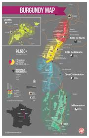 France Regions Map by France Bourgogne Wine Map Regional Wine And Pinot Noir