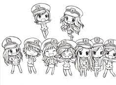 Exo Chibi Coloring Pages Coloring Pages Pinterest Chibi Exo Coloring Pages Kpop