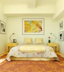 Bedroom Decorating Ideas Yellow Wall Cream Colored Bedroom With Orange Carpet Decor Master Bedroom Home
