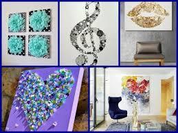 Diy For Room Decor Easy Diy Room Decor 20 Simple Wall Art Ideas Youtube