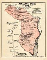 prince georges county map washington d c and prince george county maryland 1878 district