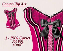 corset clipart burlesque clipart lingerie clip art
