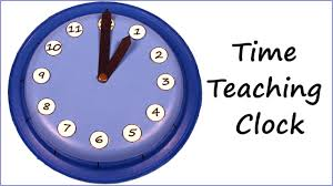 time learning clock clock for learning how to tell time