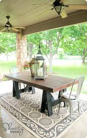 collected society diy patio table top tutorial after glass table