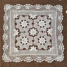 online get cheap lace crochet sofa cover aliexpress com alibaba