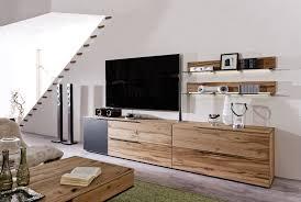 Wohnzimmerverbau Modern V Alpin U2013 Wohnzimmer Naturholzmöbel In Eiche Altholz