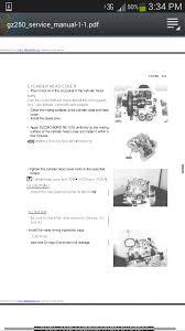 suzuki gz 250 valve clearances and head bolt torque settings