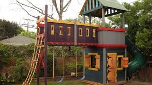 Backyard Playhouse Ideas 16 Diy Playhouses Your Will To Play In The Self
