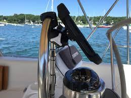 Edson Pedestal Guard Easy Ipad Mount For Pedestal Guard Sailboatowners Com Forums
