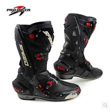 biker riding boots pro biker speed b1003 long section motorcycle boots sportbike race