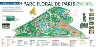 Map Paris France by Map Of The Parc Floral De Paris Http Map Of Paris Com Parks