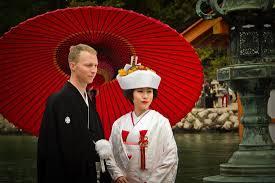 japanese wedding backdrop traditional japanese wedding in miyajima