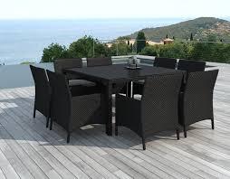 Ikea Salon De Jardin En Resine Tressee by Meubles Table Et Chaises De Jardin Moderne Bali Table Chaise