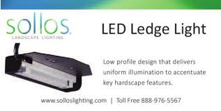 Sollos Landscape Lighting Ledge Light Sollos Landscape Lighting Norcross Ga