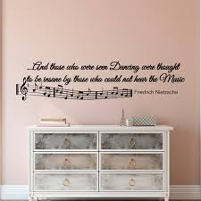 music note home decor music notes wall decals quotes vinyl lettering and those who
