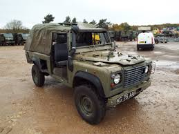 military land rover you are bidding on direct from the uk ministry of defence a