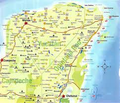 map of mexico yucatan region road tripping the yucatan peninsula justin glanville
