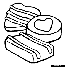 candy coloring pages chocolate candy coloring pages valentine u0027s day online coloring