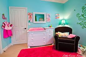 pink rug contemporary nursery little crown interiors