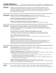 Electrical Engineer Resume Samples by How To Write A Engineering Resume Free Resume Example And