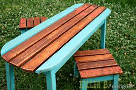 Ana White Picnic Table Ana White Kids Surfboard Table And Stools Diy Projects