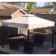 Replacement Awnings For Gazebos Reno Depot Gazebo Replacement Canopy Garden Winds Canada