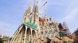 modernism in spain and monuments at spain is culture