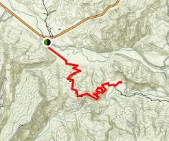 map of baton redbud trail to baton flat california alltrails com