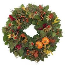 thanksgiving wreaths garlands williams sonoma